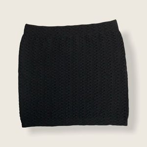 ⭐️2/$46 Guess Cable Knit Mini Skirt